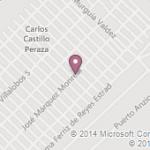 """Ubicación de la Escuela de Mejoramiento Social para Menores """"México"""". Imágen tomada de google maps."""