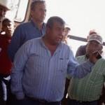 Los defensores de derechos humanos y ambientales Ismael Solorio y Alberto Almeida. Fotografía tomada del Barzón, Chihuahua (http://goo.gl/qifGmi)