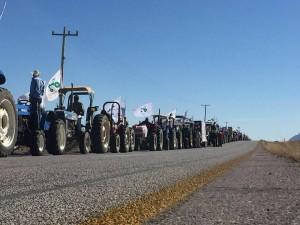 Tractores visita el papa